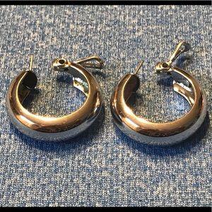 Beautiful Thick & Bold Hoop Earrings
